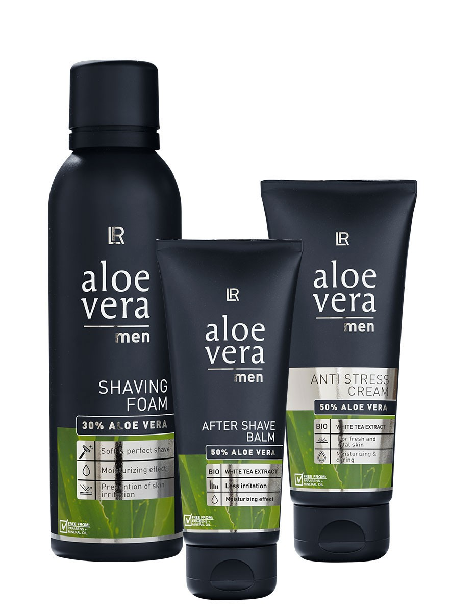LR Aloe Vera Men Set with Shaving Foam 20424