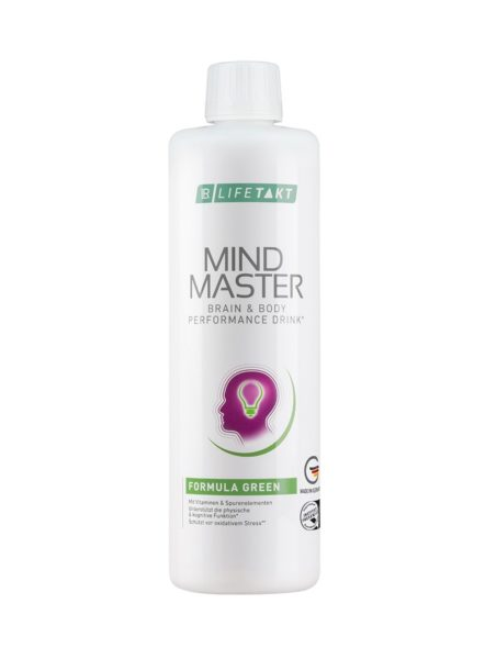 LR LIFETAKT Mind Master Brain & Body Performance Drink Formula Green | Groen - Anti-stress drank
