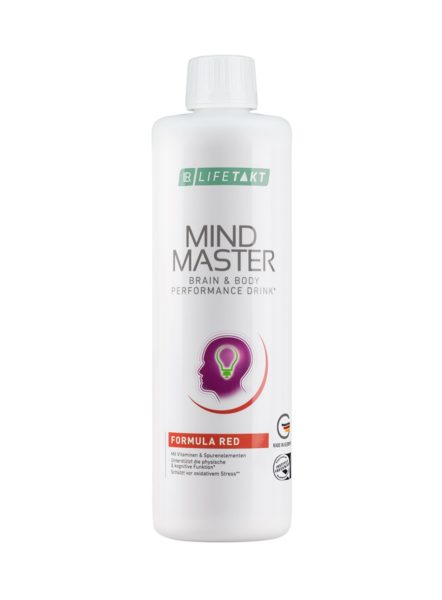 LR LIFETAKT Mind Master Brain & Body Performance Drink Formula Red | Rood - Anti-stress drank
