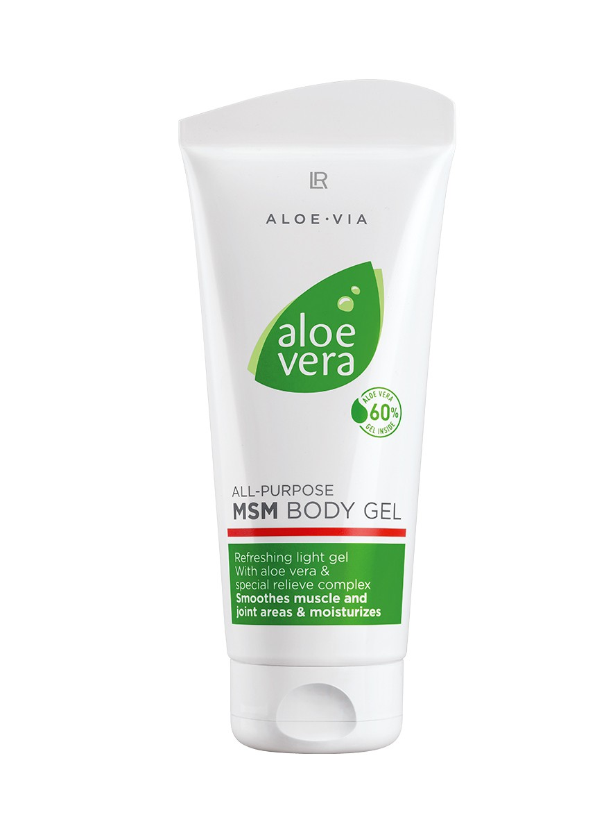 LR ALOE VIA Aloe Vera All-Purpose MSM Body Gel - Vorige Editie