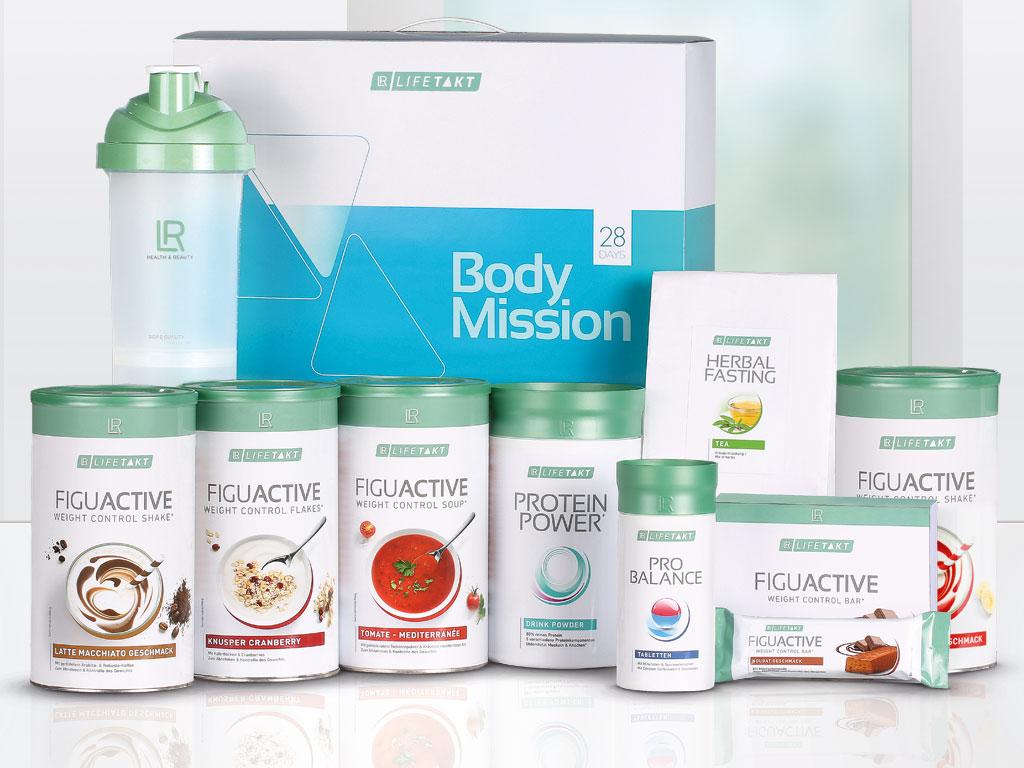 LR LIFETAKT 28 Days Body Mission FiguActive FiguActiv Dieet Vervangmaaltijd