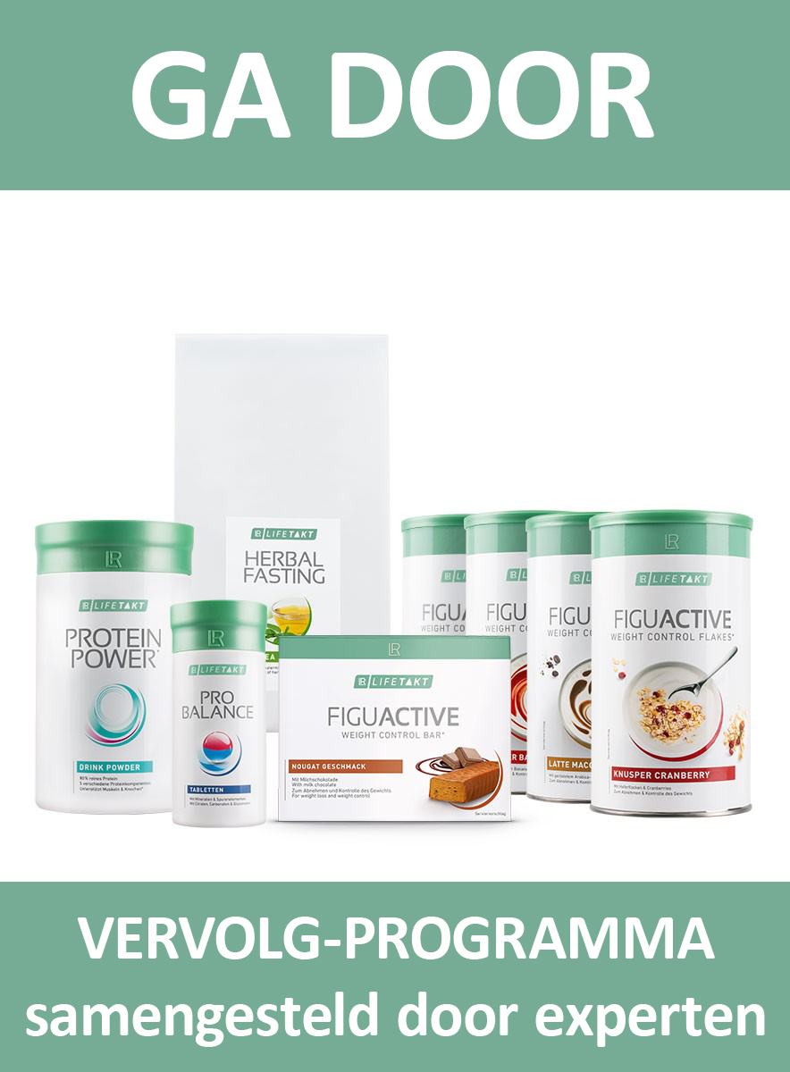 LR LIFETAKT 28 Days Body Mission Vervolg Expert FiguActive Weight Management Control FiguActiv Maaltijdvervangers