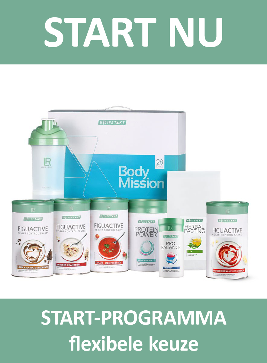 LR LIFETAKT 28 Days Body Mission Flex Start FiguActive Weight Management Control FiguActiv Maaltijdvervangers