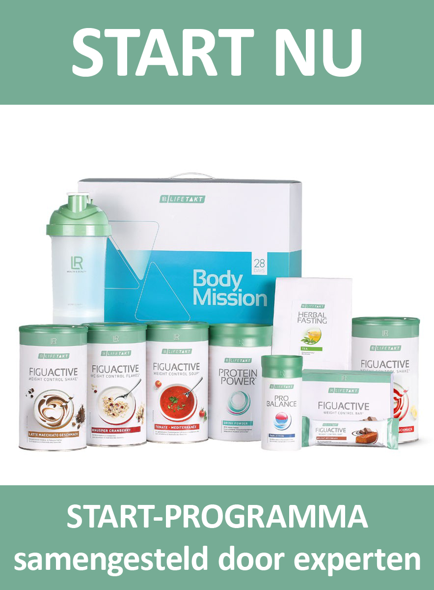 LR LIFETAKT 28 Days Body Mission Start Expert FiguActive Weight Management Control FiguActiv Maaltijdvervangers
