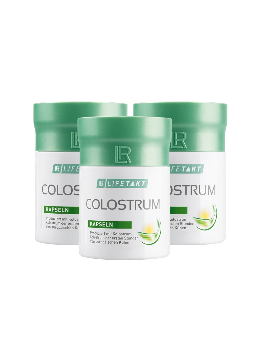 LR LIFETAKT Colostrum Capsules - Colostrum Set van 3