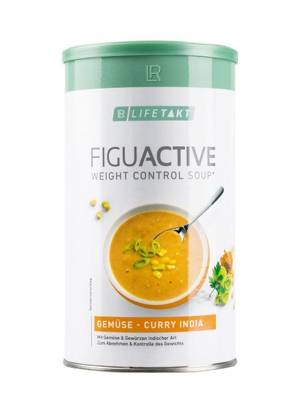 LR LIFETAKT FiguActive Weight Control Soup FiguActive Groenten-Currysoep India FiguActiv Soep Maaltijdsoep Curry