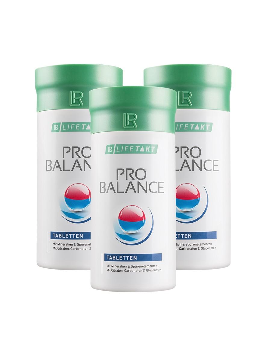 LR LIFETAKT ProBalance Set Tabletten | Pro Balance Mineralen - Set van 3