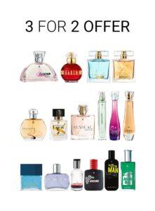 LR Eau de Parfum 3 voor de prijs van 2