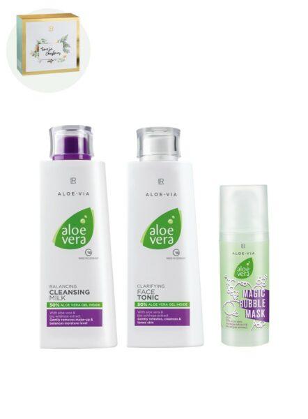 LR ALOE VIA Aloe Vera Face Cleaning Set