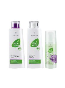 LR ALOE VIA Aloe Vera Face Cleaning Set