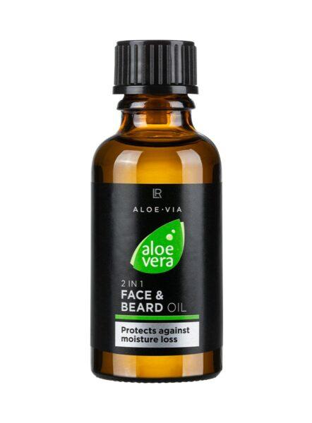 LR ALOE VIA Aloe Vera Men's Essentials 2in1 Face & Beard Oil | Baardolie