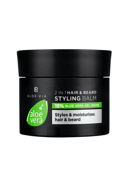 LR ALOE VIA Aloe Vera Men's Essentials 2in1 Hair & Beard Styling Balm