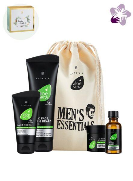 LR ALOE VIA Aloe Vera Men's Essentials Set