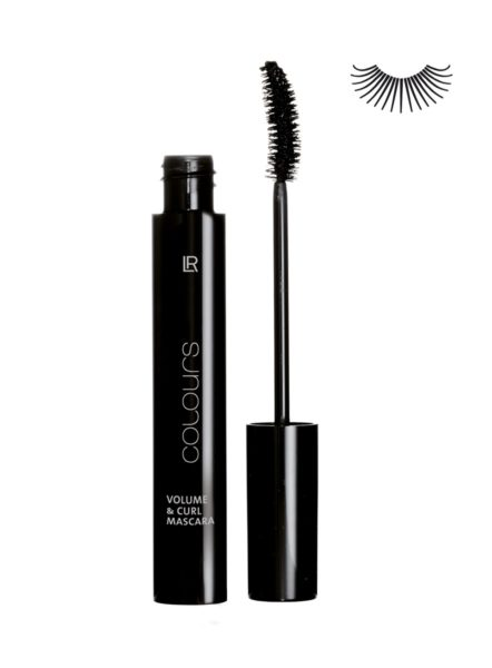 LR COLOURS Volume & Curl Mascara No 1 Absolute Black