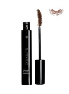 LR COLOURS Volume & Curl Mascara No 4 Dark Brown