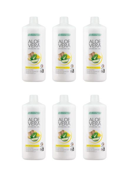 LR LIFETAKT Aloe Vera Drinking Gel Immune Plus - Set van 6