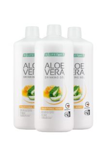 LR LIFETAKT Aloe Vera Drinking Gel Traditional Honey - Set van 3