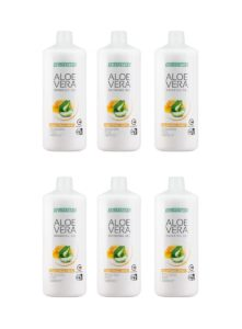 LR LIFETAKT Aloe Vera Drinking Gel Traditional Honey - Set van 6