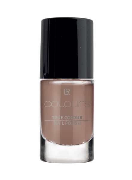 LR COLOURS True Colour Nail Polish No 13 Brown Truffle